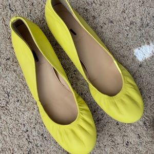 J crew Cece ballet flat made in Italy size 7